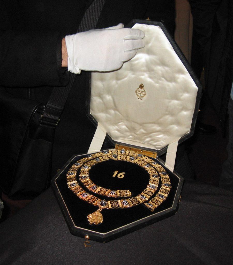 Le collier de la toison d'or